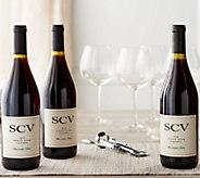 Vintage Wine Estates 3 Bottle Harvest Collection - M55570