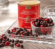 Ships 12/4 Squirrel Brand (3) 16-oz Tins Dark Chocolate Crancherry - M57170