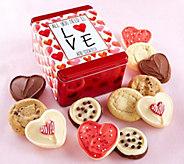 Cheryls Valentines Tin - Love and Cookies - M115671