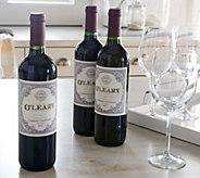 Ships 5/16 Vintage Wine Kevin OLeary Reserve 3-Bottle Set - M50271