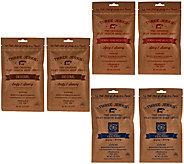 Three Jerks Jerky (6) 2-oz Filet Mignon Beef Jerky - M55671