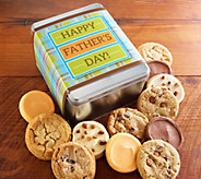 Cheryls Happy Fathers Day 12-Piece Cookie Tin - M115772