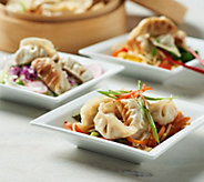 The Perfect Gourmet 120 pc Chicken, Pork, or Veggie Potstickers - M54172