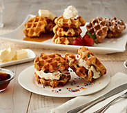 WaffleWaffle (16) 2.25-oz Individually Wrapped Liege Waffles - M57872