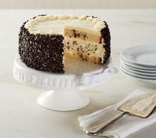 """Junior's 7"""" Chocolate Chip Layer Cake Cheesecake"""