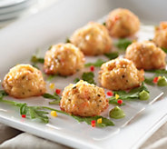 Great Gourmet (64) 1 oz. Shrimp & Monterey Cheese Balls - M48873