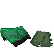 Wheelbarrow Booster with Leaf Grabbers by The Grouchy Gardener - M50073
