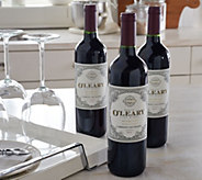Vintage Wine Estates Kevin OLeary 3 Bottle Set Auto-Delivery - M53773