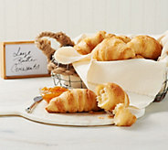 Authentic Gourmet 30 Butter Croissants Auto-Delivery - M56473