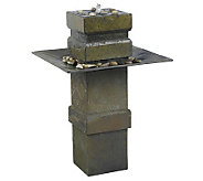 Kenroy Home Cubist Outdoor Fountain - M107074