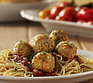 Stuffin Gourmet (36) Parmesan Cheese Crusted Meatballs & 1lb Marinara Sauce - M42974