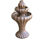 Scott Living Nantucket 3 Tier Fountain with Removable Planter - M48574
