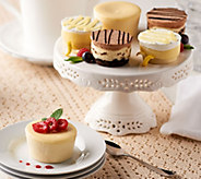 Juniors Set of 18 Sugar Free Mini Cheesecakes and Layer Cakes - M54074