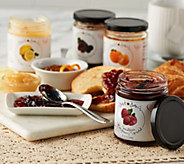 Just Jans (4) 10 oz. Jars of Jam and Spreads Sampler - M54174