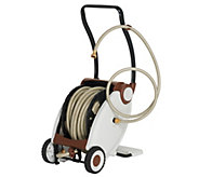 100-foot Hose with Foot Crank Powered Hose Reel - M57474