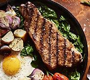 Kansas City Steak Co. (12) 10oz Strip Steaks - M34775