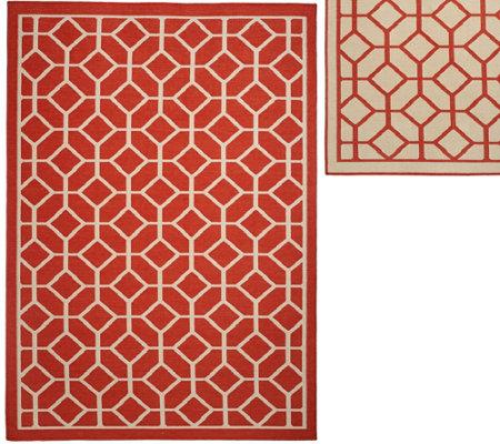 Veranda Living Colors Indoor Outdoor 5x7 Geometric