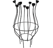 Plow & Hearth Metal Blooms Trellis Planter - M48775