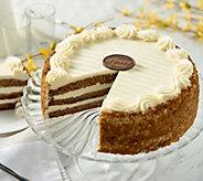Ships 4/10 Juniors 5.5 lb. Carrot Cake Easter Layer Cake - M54575