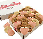 Cheryls 36-ct Valentines Day Assorted CookieBox - M107976