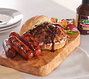 Corkys BBQ 2lbs. Kielbasa Sausage & 2lbs. Pulled Pork Auto-Delivery - M51176