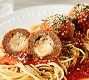 Mama Mancinis 6lbs Mozzarella Stuffed Meatballs w/ Bonus 1lb Sauce - M57876