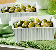 Perfect Gourmet (2) 2lb trays Braised BrusselsSprouts - M114677
