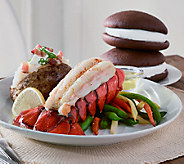 Lobster Gram (12) 5-6 oz. Lobster Tails w/ Butter and Bonus Whoopies - M49377