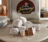 Ships 12/5 Jimmy the Baker 1.75 lbs. of Walnut Meltaway Cookies in Tin - M51277