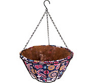 Ultimate Innovations S/2 14 AquaSav Hanging Basket Planters - M51577