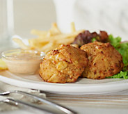 Ships 12/5 Seafood House (20) 3 oz. Maryland Style Crab Cakes - M52877