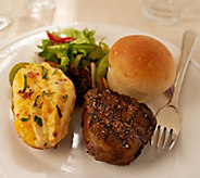 Kansas City (2) 6 oz. Filet Mignons with 2 Potatoes and 6 Rolls - M53977