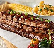Bubbas Q (6) 18 oz. Boneless Baby Back Rib Steaks in Sauce - M54577