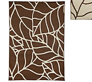 Veranda Living Colors Indoor/Outdoor Abstract 7x10 Reversible Rug - M48178