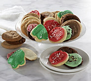 Ships 12/5 Cheryls 50 Piece Holiday Cookie Auto-Delivery - M52678