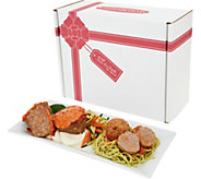 Ships 11/6 Mama Mancinis 3lb Meatballs & 6 oz Meatloaf Cupcakes in Box - M55278