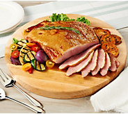 SH3/26 Corkys BBQ 4.75-lb Applewood Smoked Boneless Carving Ham - M58478