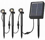Kenroy Home Solar Landscape Three Spotlight String - M114179