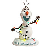 Disneys Frozen Light Up Indoor/Outdoor Figurine - M45779