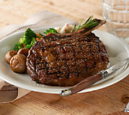 Kansas City (4) 18 oz. Frenched Bone-in Ribeye Steaks - M46679