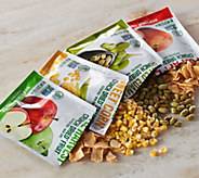 Sensible Foods (8) 4 Flavor Packs of Dried Fruits and Veggies - M50879