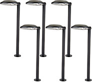 Paradise Set of 6 Contemporary Ultra Bright Solar Light Set - M52279