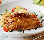 Anderson Seafoods (12) 4 oz. Hawaiian Flame Seared Tilapia - M54579