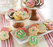 Cheryls 32 Piece Spring Frosted Cookie Assortment - M54679