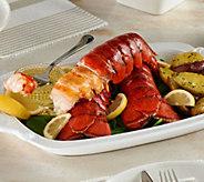 Greenhead Lobster (4) 7-8 oz. Lobster Tails w/ 8 oz. Butter - M54979