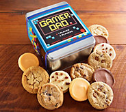 Cheryls Fathers Day Gamer Dad 12-Piece CookieTin - M115780