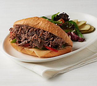 Product image of Bella Brand (20) 4 oz. Packages of Beef or Chicken Sandwich Steaks