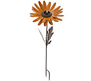 Desert Steel Garden Flower Stake & Torch - M52180