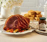 Smithfield 7.5-8.5 lb Brown Sugar Ham with Glaze & Cornbread - M47081