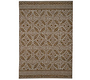 ED On Air 5x7 Medallion Pattern Outdoor Rug by Ellen DeGeneres - M49581